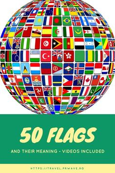 50 flags and their meaning (videos included) - Travel Moments In Time - travel itineraries, travel guides, travel tips and recommendations Jeff Koons, Expo Paris, Travel Guides, Travel Tips, Travel Hacks, Good Morning Beautiful People, New Year Special, World Festival, Paintings