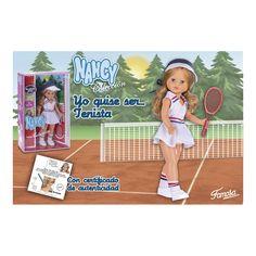 """Reediciones NANCY, este año 2016 """"Yo quise ser tenista"""""""
