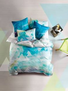 REFLECTION QUILT COVER SETS MULTI DOUBLE QUILT COVERS