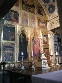 Category:San Miniato al Monte (Florence) - Interior Romanesque Art, Firenze, San, Wikimedia Commons, Painting, Italia, Painting Art, Paintings, Painted Canvas