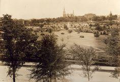 Tatnall Square Park in the 1900s