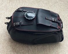 URAL fuel tank gas bags crazy horse leather 1 pocket and 2 removable bags Motorcycle Accessories, Leather Accessories, Motorcycle Cover, Fuel Gas, Bike Frame, Crazy Horse, Leather Cover, Black Leather, Etsy