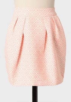 joan holloway printed jacquard skirt