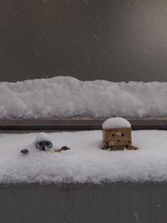 stuck in snow!!!