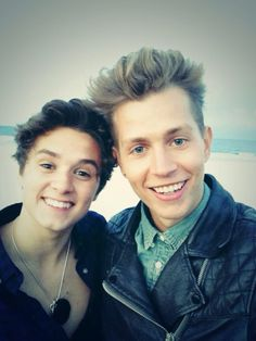 Brad and James, The Vamps!