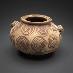 Egyptian    Jar, Predynastic Gerzean Period (c. 3500-3050 B.C.)    Ceramic