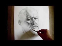 """Herman"", 2 hours live crosshatching drawing demo by Zimou Tan. - YouTube"