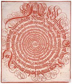« Alle Weissheit ist bey Gott dem Herrn… » (Siracide, premier chapitre, traduction allemande), artiste anonyme, 1654