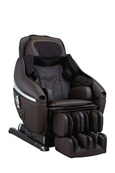 INADA DreamWave Massage Chair, Dark Brown >>> Click on the image for additional details.