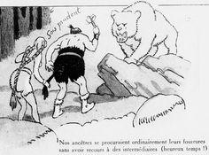 Henri Avelot - De l'ours des cavernes au chat de gouttières : vue à rebrousse-poil de l'histoire des fourrures (1922) - Henri Avelot (1873-1935) fue un pintor, ilustrador y humorista francés  Henri Avelot – De l'ours des cavernes au chat de gouttières : vue à rebrousse-poil de l'histoire des fourrures (1922) – Henri Avelot (1873-1935) fue un pintor, ilustrador y humorista francés