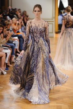 Haute Couture Zuhair Murad Fall-Winter 2014 Fashion show – Outfit Inspiration & Ideas for All Occasions Zuhair Murad, Runway Fashion, High Fashion, Fashion Show, Fashion Design, Trendy Fashion, Crazy Fashion, Net Fashion, Womens Fashion