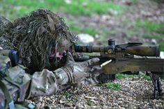 Snipers fulfil a vital and enduring role on the battlefield, in terms of intelligence-gathering, target identification and eliminating high-value targets. They work in pairs, with the more experienced acting as the spotter, using high quality optics to sight targets and judge wind and elevation to guide the shooter, who is equipped with the powerful and accurate L115A3 rifle. Photographer Corporal Andy Reddy; Crown copyright.