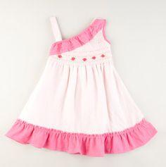 toddler smocked summer dress