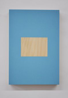 Rose Davey, Untitled, 2011 Acrylic and emulsion paint on plywood panel.