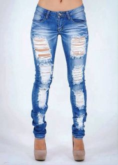 Women Jeans Outfit Jeans Flare Sequin Tank Top Cheap Sweatpants Denim Leggings Light Jeans Jeans And Heels Outfit – yuccarlily Distressed Leggings, Denim Leggings, Distressed Skinny Jeans, Jeans Pants, Outfit Jeans, Shorts, Denim Jeans, Cheap Skinny Jeans, Cute Ripped Jeans
