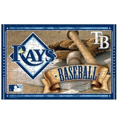 TAMPA BAY RAYS OFFICIAL LOGO 150 PIECE JIGSAW PUZZLE