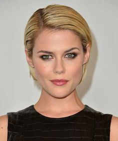 """Rachael Taylor Photos - Actress Rachael Taylor arrives to the Disney ABC Television Group's 2012 """"TCA Summer Press Tour"""" on July 2012 in Beverly Hills, California. Short Slicked Back Hair, Sleek Back Hair, Short Straight Haircut, Short Hair Cuts, Short Hair Styles, Slicked Hair, Rachael Taylor, Prom Hairstyles For Short Hair, Slick Hairstyles"""