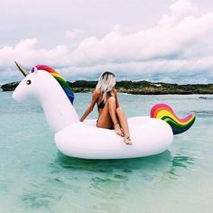 Buy Unicorn Pool Float from Top rated seller. You will have Free worldwide shipping on this item. You may also like the similar items on the link. Go to store and check it out ! - Inflatable Pool Float - Ideas of Inflatable Pool Float Summer Of Love, Summer Fun, Summer Vibes, Pool Floats, Foto Pose, Beach Bum, Summertime, Chill, Surfing
