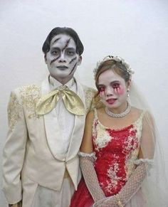 Marital Traditions That Are for Better or for Hearse #halloween #weddings trendhunter.com