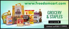 Buy groceries online in Freedomcart Nellore with accessible price and ersonal care products online. more on http://www.freedomcart.com