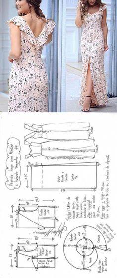 La costura ✂ los Patrones. El vestido