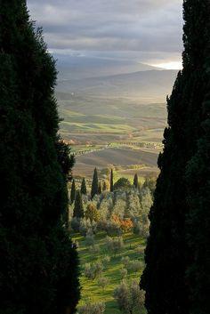 Pienza,Tuscany