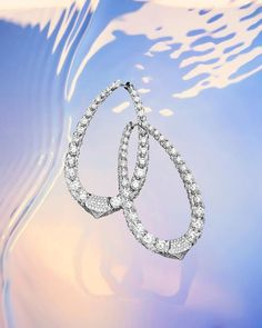 """BOGHOSSIAN บน Instagram: """"The Merveilles Halo: a pair of earrings of curved architecture, with an elongated ellipse and a gentle cusp completely carpeted with the…"""" Diamond Jewelry, Diamond Earrings, Body Jewelry, Unique Jewelry, Jewellery, Photo Look, Around The Worlds, Bracelets, Silver"""