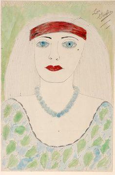 Lee Godie. Pretty Pearls. : Lot 240