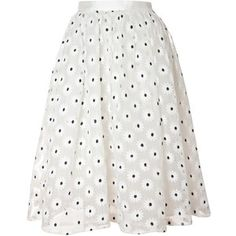 True Decadence Mesh Midi Skirt, White