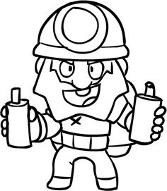 Brawl Stars game: Clash of Clans, Clash Royale and Boom Beach is a very fast war game. The most popular and exciting game, Brawl Stars, KidsTV. Super Mario Coloring Pages, Star Coloring Pages, Coloring Pages For Kids, Boom Beach, Star Character, Character Drawing, Star Pictures, Sound Waves, Clash Of Clans
