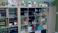 Here are a few pictures of my Stamp Room.