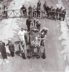 Targa Florio 1932 , Alfa Romeo 8C 2300 #10 , Driver Tazio Nuvolari , First place overall winner.
