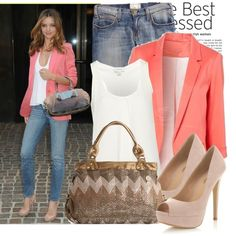 celebrity street style | Celebrity street style: Miranda Kerr - Polyvore