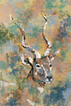 Studio Safari I by Madelaine Morris Painting Print on Wrapped Canvas