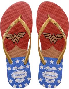 Wonder Woman Flip-Flops Are Perfect For Summer