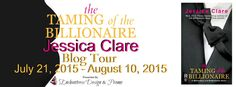 Like contemporary romance? Check out the Blog Tour & #Giveaway for The Taming of the Billionaire by Jessica Clare and Enter to #Win a $100 Amazon or B&N GC ...#EnchantressDesignandPromo....#VivianoIzzo#....#PenguinUSA