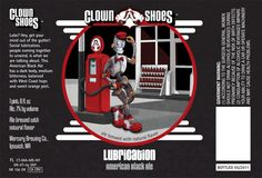 Lubrication by Clown Shoes. An American black ale at 6% ABV. Thought this only came in bombers, but found it in 4-pack of 12 oz.
