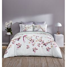 Ted Baker London Flight Orient Full/queen Comforter Set In Mint King Quilt Sets, King Duvet Cover Sets, Duvet Covers, Twin Comforter Sets, King Comforter, Bedding Sets, Floral Comforter, Flights To London, King Pillows