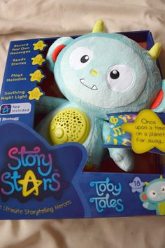 Story Stars Toby Tales Toy Review #kids
