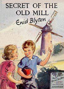 Secret of the Old Mill Enid Blyton Secret Seven Book Eileen Soper 1948 Old Children's Books, Vintage Children's Books, Antique Books, My Books, Book Cover Art, Book Covers, Enid Blyton Books, Kids Book Series, Who Book