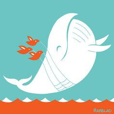 Fail Whale Twitter Avatar by Ape Lad, via Flickr