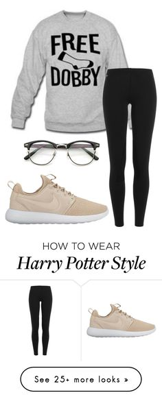 """Glasses."" by annayalee-gerber on Polyvore featuring Polo Ralph Lauren and NIKE"