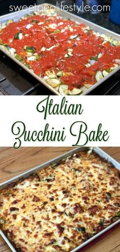 Italian Zucchini Bake is an easy dinner side dish recipe that uses a few ingredi. - Italian Zucchini Bake is an easy dinner side dish recipe that uses a few ingredients and lots of su - Dinner Side Dishes, Dinner Sides, Side Dishes Easy, Italian Side Dishes, Side Dishes For Lasagna, Side Dishes For Meatloaf, Side Dishes For Thanksgiving, Diabetic Side Dishes, Vegetarian Side Dishes