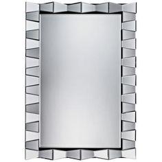 "La Porte 47"" x 32"" Rectangular Wall Mirror -"