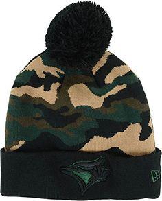 bc39117b645 New Era Toronto Blue Jays Camo Top Knit Hat New Era https   www