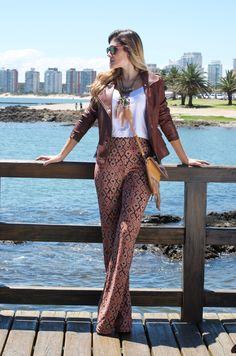 #PATTERNEDPANTS #pants #moda #fashion #patterned #pantalón #pantalones #look #pantalon #sea #mar