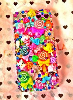cutest custom deco phone cases at www.etsy.com/shop/candycrystalsla