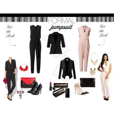 Formal Jumpsuits by koum-anastasia on Polyvore featuring mbyM, Diane Von Furstenberg, Eight Sixty, Kardashian Kollection, Gianvito Rossi, Schutz, Emilio Pucci, Atmos&Here, By Malene Birger and Kenneth Jay Lane