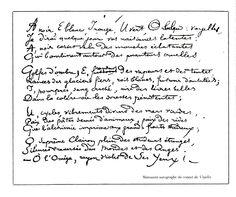 Poème d'Arthur Rimbaud (1883)