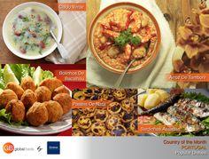 Discover the Portugal with Global Beds  5 Portuguese Dishes You Need To Try -Bolınhos De Bacalhau -Arroz De Tamboril -Caldo Verde -Pasteis De Nata -Sardinhas Assadas  #onlinebookingsystem #FIT #Portugal #dishes #countryofthemonth #Portuguesedishes #popular #popularfoods #instadaily #todayspost #picoftheday #DorakHolding #GB #GlobalBeds